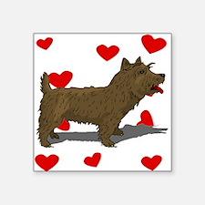 Norwich Terrier Love Sticker