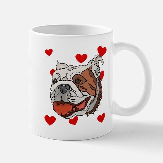 Bulldog Love Mugs