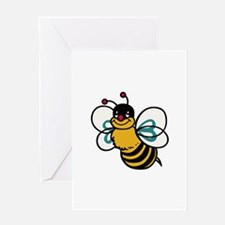 CUTE BEE Greeting Cards
