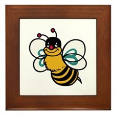 CUTE BEE Framed Tile