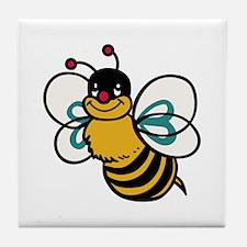 CUTE BEE Tile Coaster