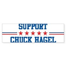 Support CHUCK HAGEL Bumper Bumper Bumper Sticker