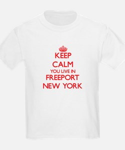 Keep calm you live in Freeport New York T-Shirt