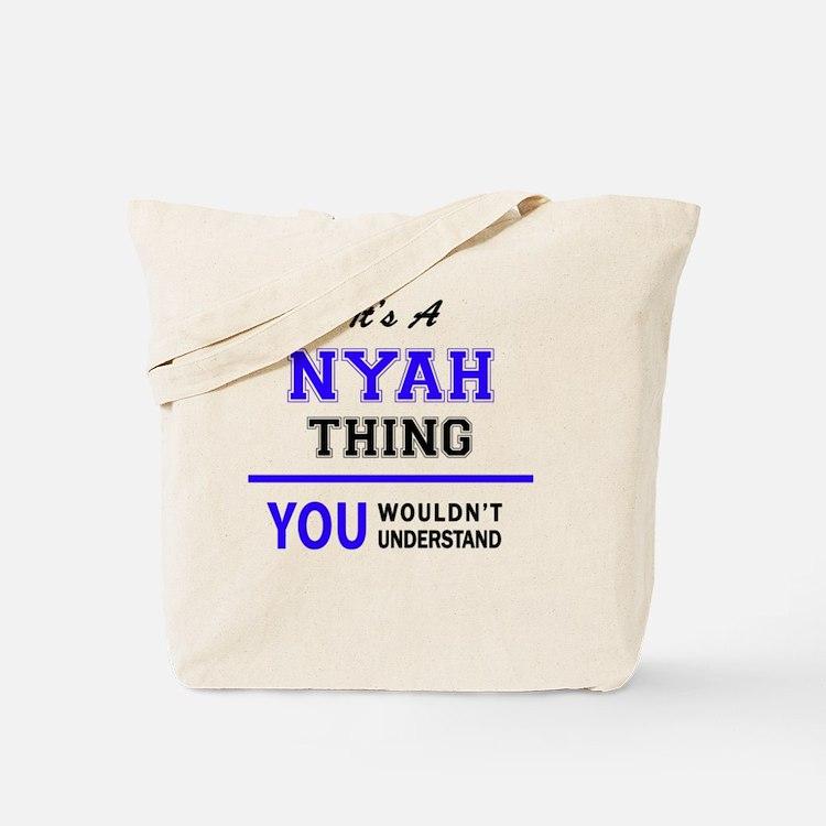 Cute Nyah Tote Bag