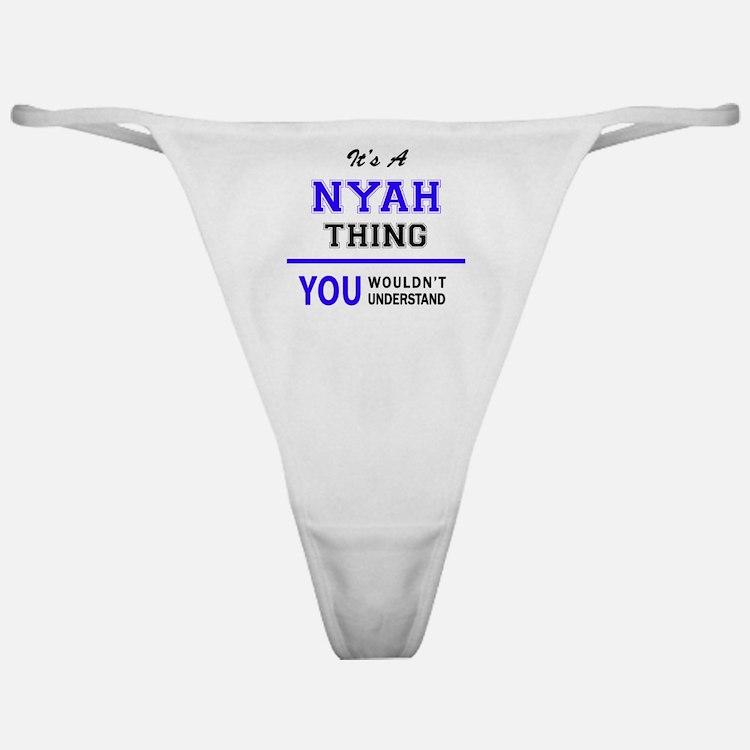 Cute Nyah Classic Thong