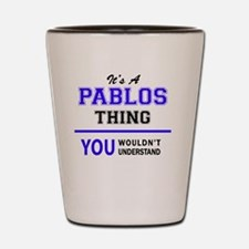 Unique Pablo Shot Glass