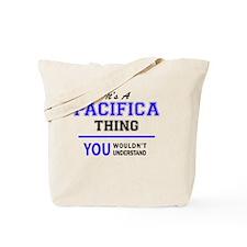 Cute Pacifica Tote Bag