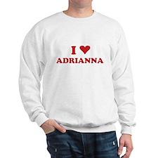 I LOVE ADRIANNA Sweater