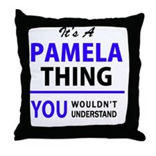 Unique Pamela Throw Pillow