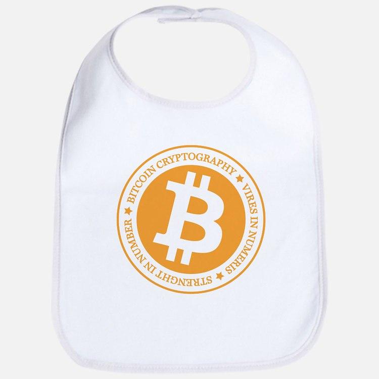 Type 1 Bitcoin Logo Bib