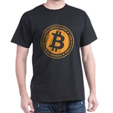 Type 1 Bitcoin Logo T-Shirt