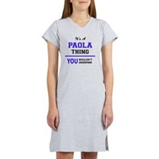 Cute Paola Women's Nightshirt