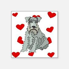 Kerry Blue Terrier Love Sticker