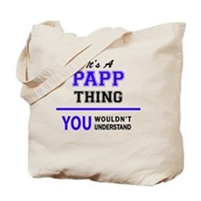 Cute Papp Tote Bag