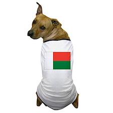 Madagascar Flag Dog T-Shirt