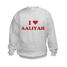 I LOVE AALIYAH Jumpers