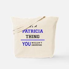Cute Patricia Tote Bag