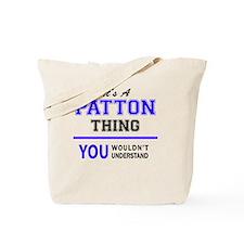 Unique Patton Tote Bag