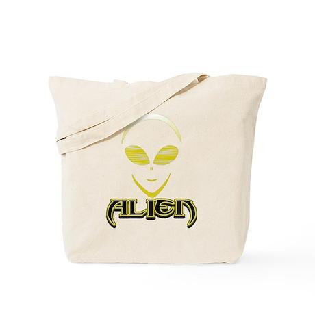 New Alien Yellow 2 Tote Bag