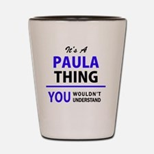 Unique Paula Shot Glass