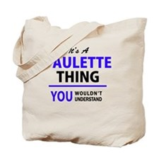 Cute Paulette Tote Bag