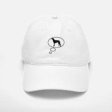 Thinking of Scottish Deerhoun Baseball Baseball Cap