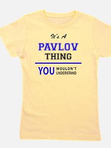 Unique Pavlov Girl's Tee