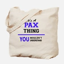 Unique Pax Tote Bag