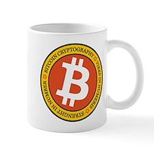 Full Color Bitcoin Logo with Motto Mugs
