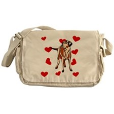 Wirehaired Vizsla Love Messenger Bag