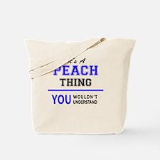 Cute Peaches Tote Bag