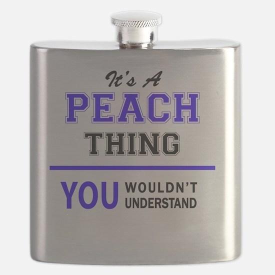 Cute Peaches Flask