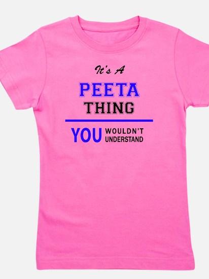Funny Peeta thing Girl's Tee