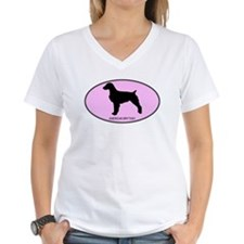American Brittany (oval-pink) Shirt