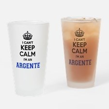 Unique Argente Drinking Glass
