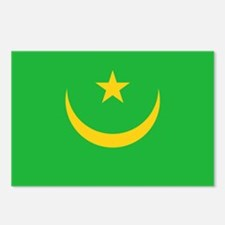 Mauritania Flag Postcards (Package of 8)