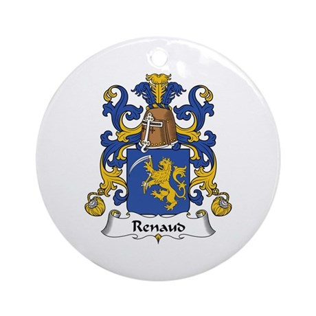 Renaud Ornament (Round)