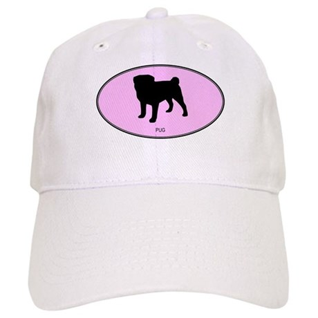 Pug (oval-pink) Cap