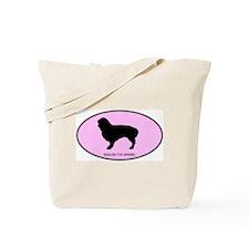 English Toy Spaniel (oval-pin Tote Bag