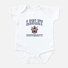 LESLEY University Infant Bodysuit