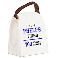 Unique Phelps Canvas Lunch Bag