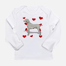 Weimaraner Love Long Sleeve T-Shirt