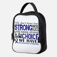 AS HowStrongWeAre Neoprene Lunch Bag