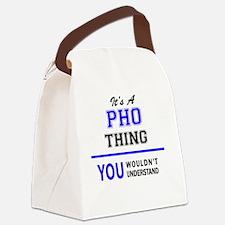 Cute Pho Canvas Lunch Bag