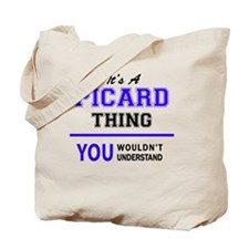 Funny Picard Tote Bag