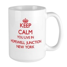 Keep calm you live in Hopewell Junction New Y Mugs