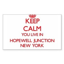 Keep calm you live in Hopewell Junction Ne Decal
