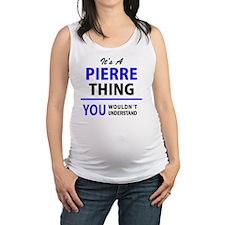 Cute Pierre Maternity Tank Top