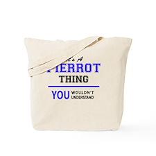 Funny Pierrot Tote Bag