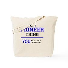 Cool Pioneer Tote Bag